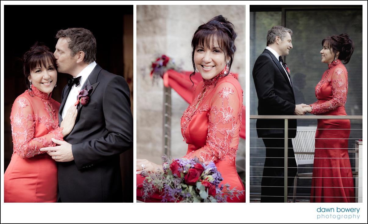 los angeles wedding photographer balcony