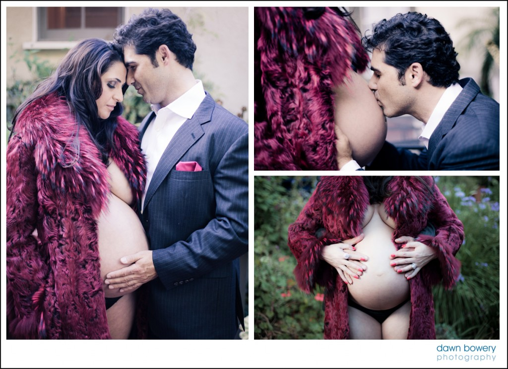 los angeles maternity portraits