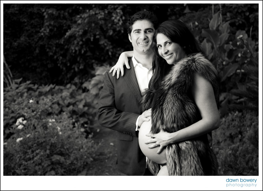 los angeles maternity portraits black and white