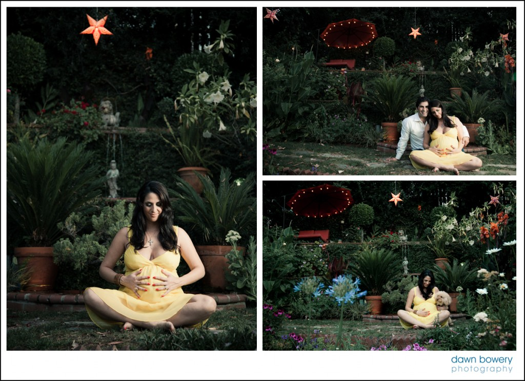 los angeles maternity yoga pose
