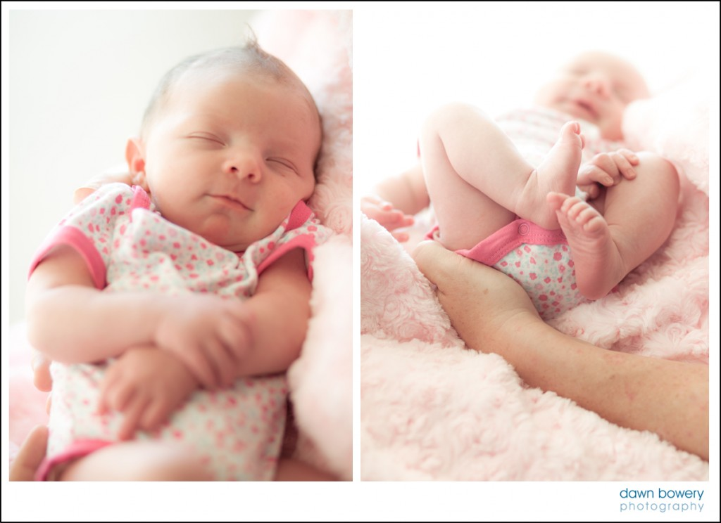 Los Angeles Newborn Portrait Photographer baby girl