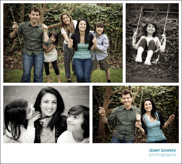 London Family Portrait Photographer swings