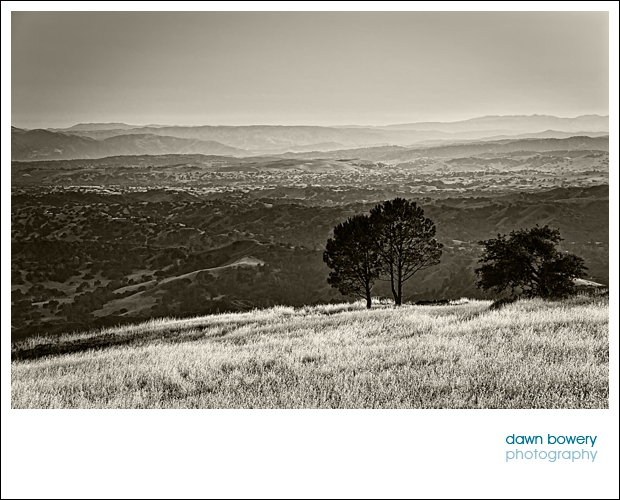 California fine art photography Santa Ynez mountains