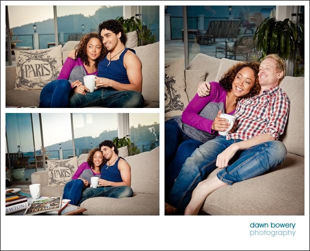 Los Angeles Lifestyle Photographer Hollywood Hills couple at home