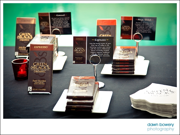 Los Angeles Corporate Event Photography green and blacks chocolate