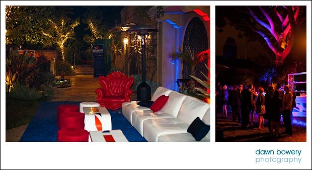 Los Angeles Corporate Event Photography britweek sofa