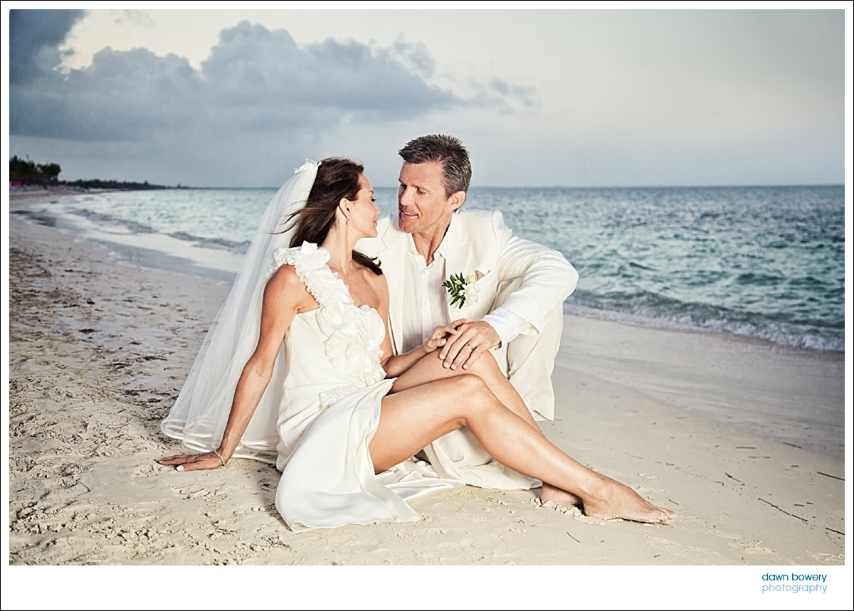 destination wedding photographer sunset beach