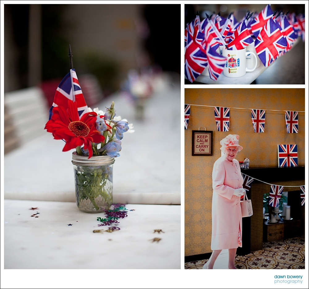 West Hollywood Event Photography queens jubilee flags