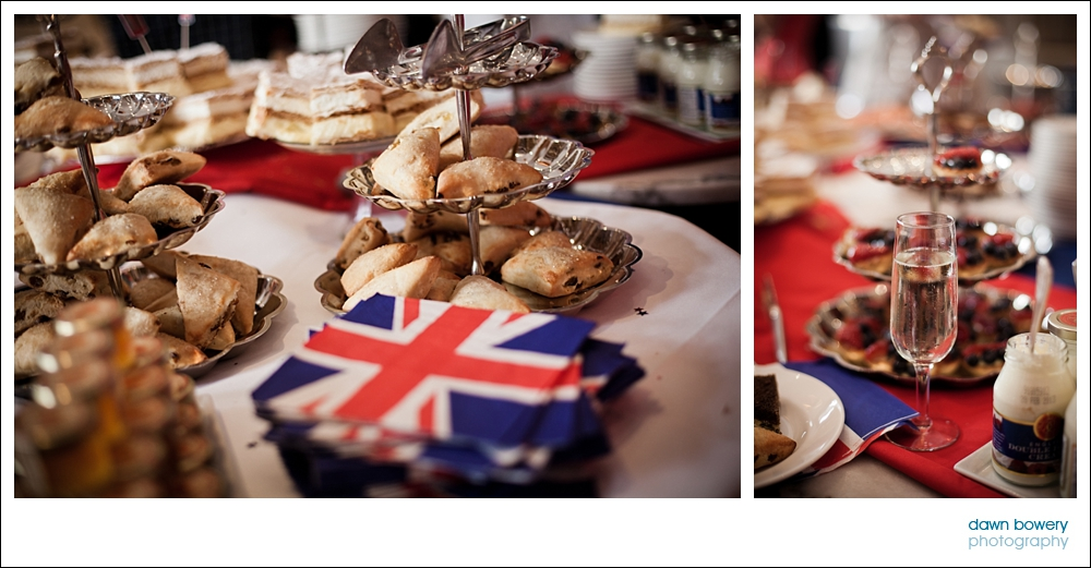West Hollywood Event Photography queens jubilee food