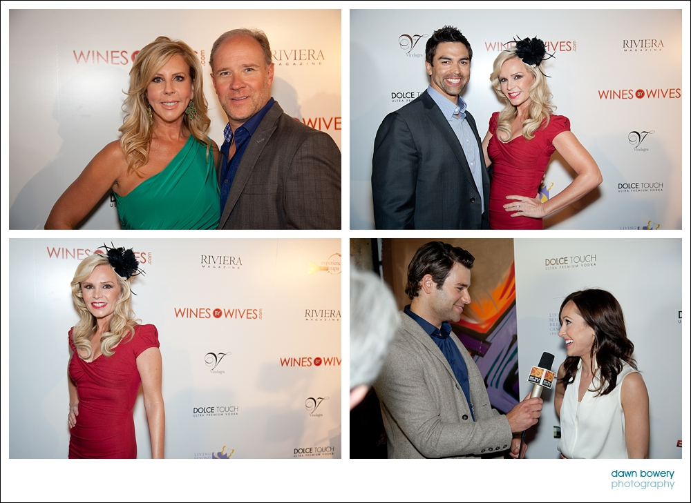 los angeles event photography wines by wives tamra barney, vicki gunvalson