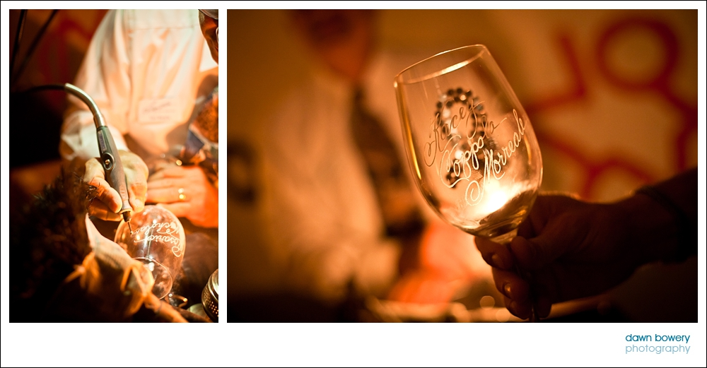 hollywood event photographer wine glass etching