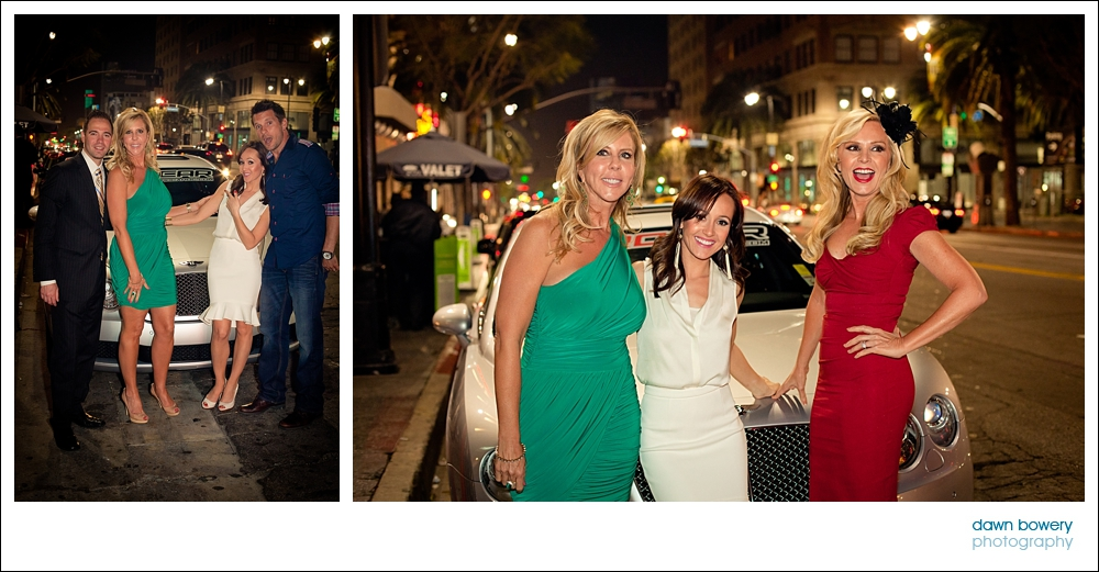 los angeles event photographer Tamra Barney,  Vicki Gunvalson, Ashley Hebert