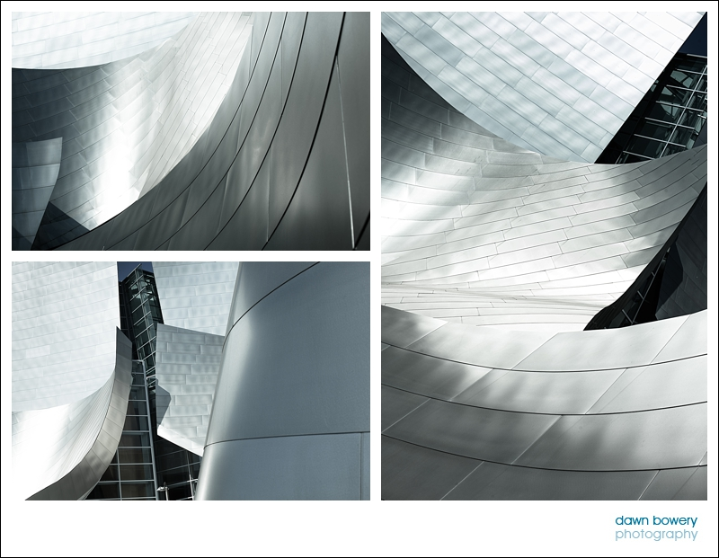 los angeles fine art photography walt disney concert hall steel