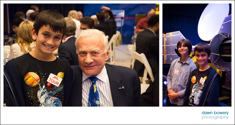 los angeles event photography jpl buzz aldrin