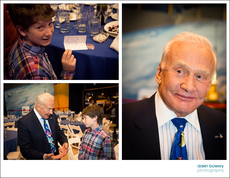 los angeles event photographer buzz aldrin portrait