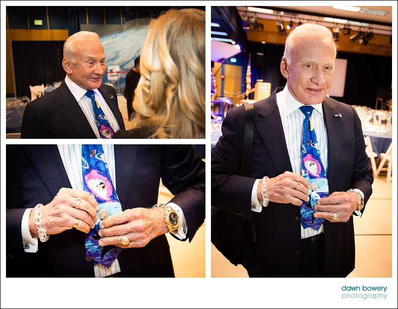 los angeles event photography buzz aldrin