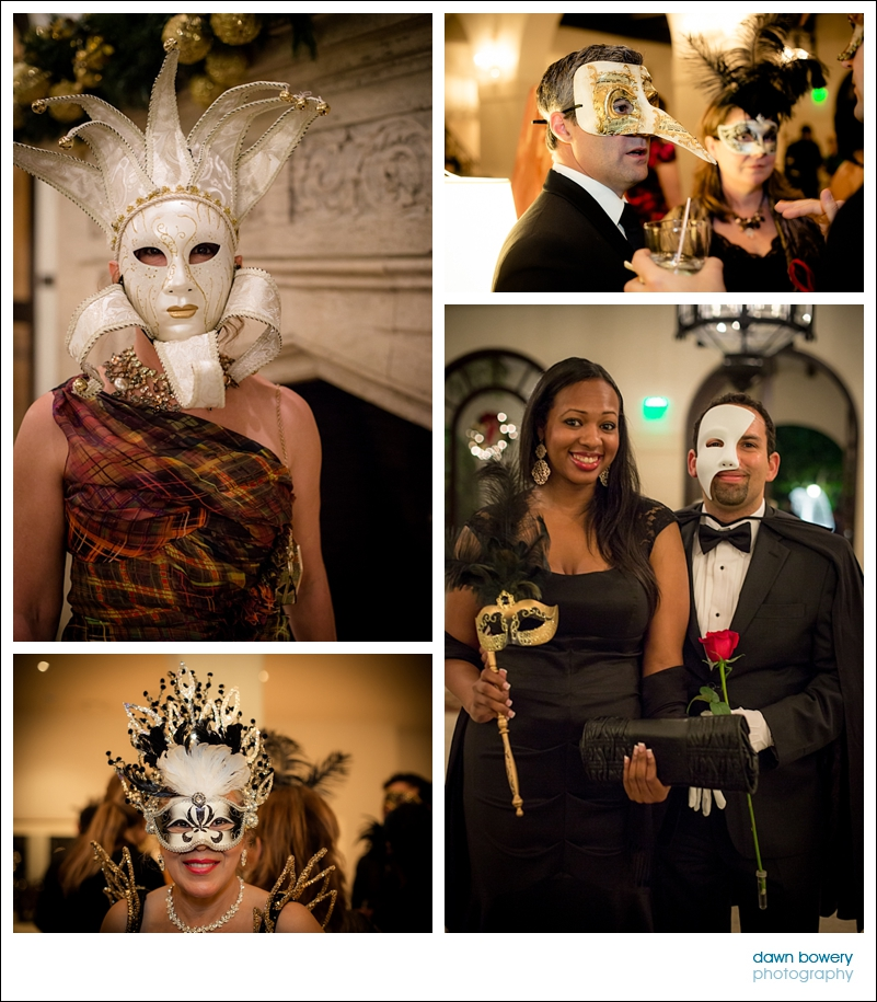 los angeles world affairs council corporate event photographer masked ball