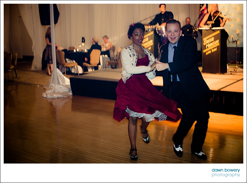 los angeles corporate event photographer swing dancers