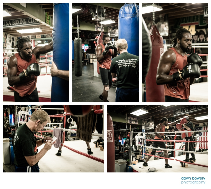 audley harrison training los angeles