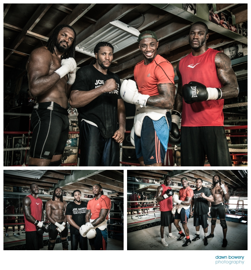 audley harrison sparring training