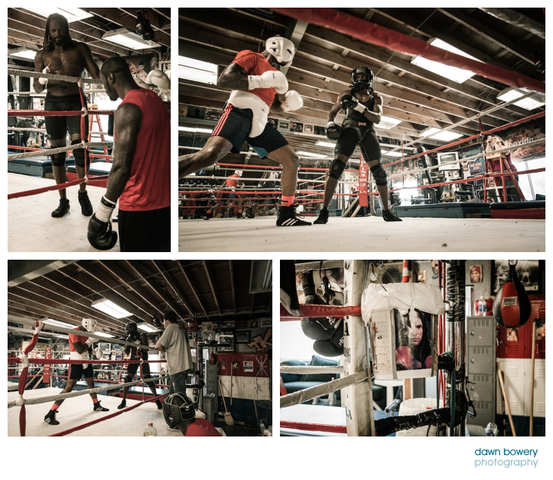 audley harrison training in canoga park