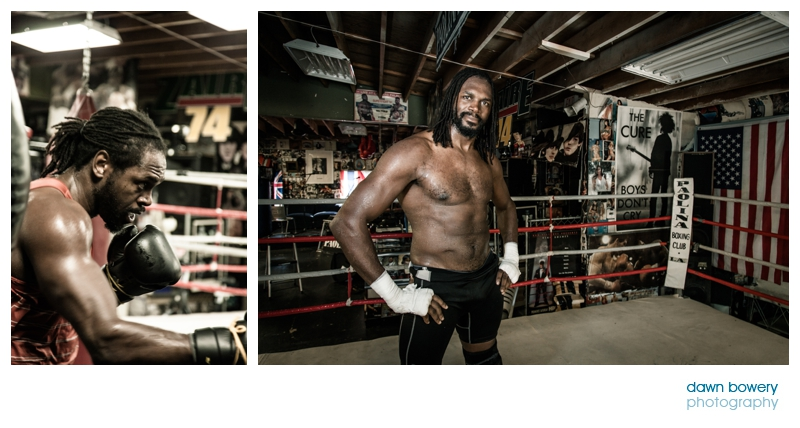 audley harrison training in LA