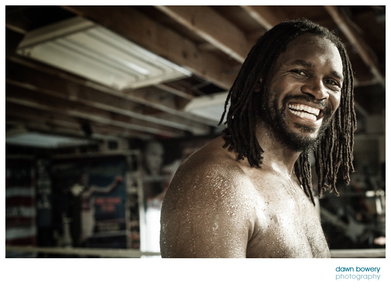 audley harrison boxing training