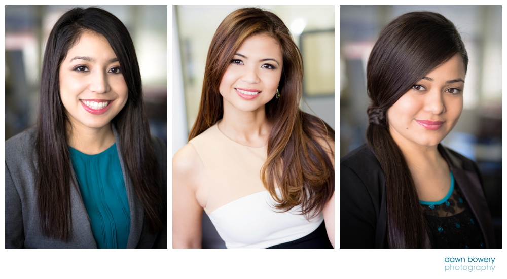 LA female corporate headshots