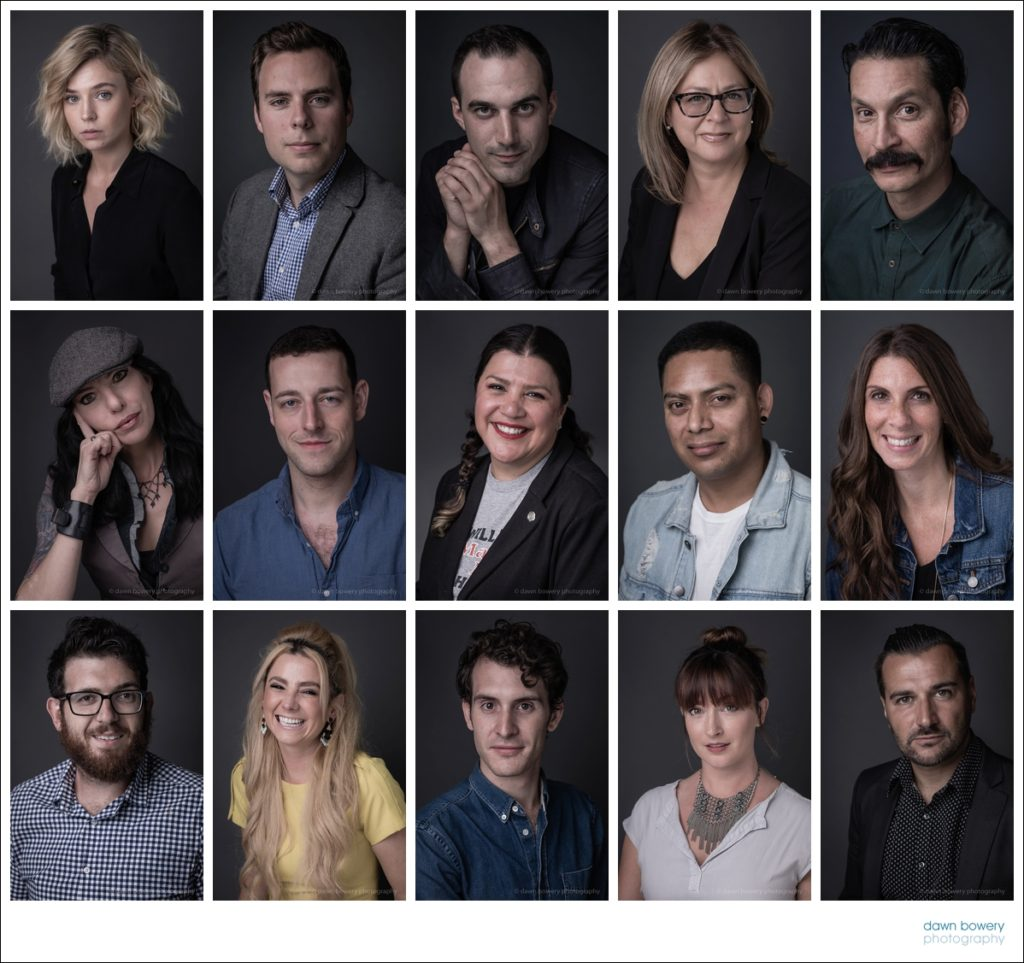 los angeles studio headshots