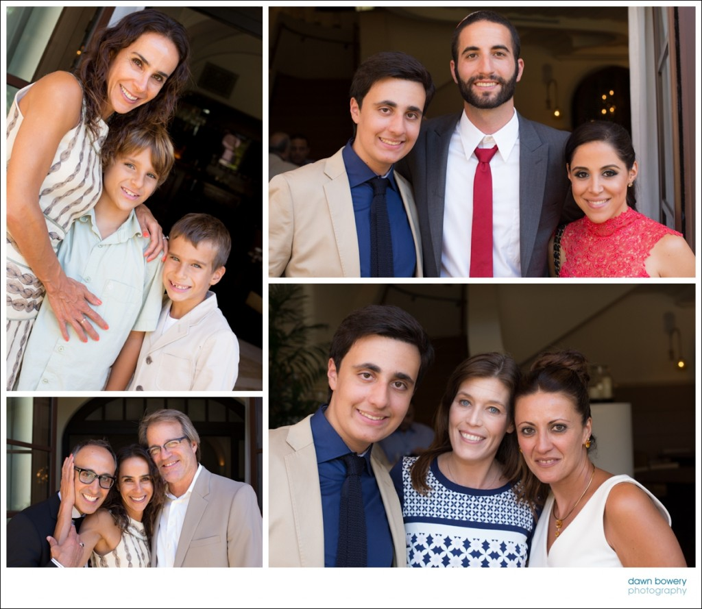 los angeles bar mitzvah photographer family friends