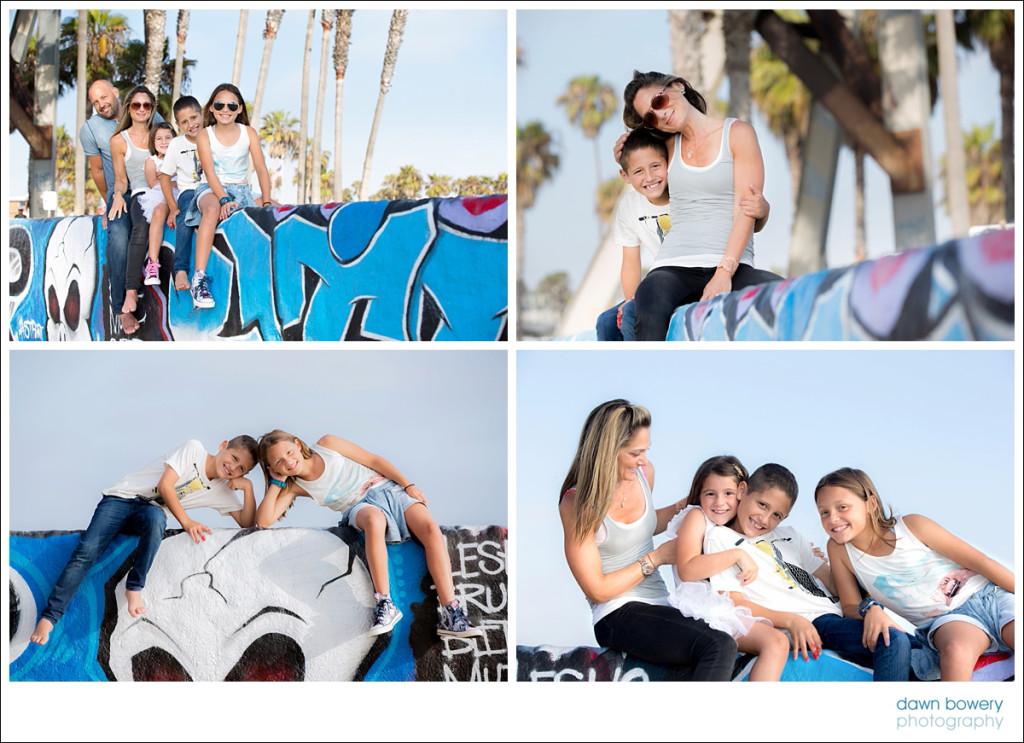 venice beach family portrait photographer