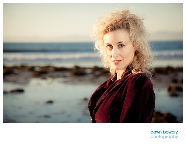 Los Angeles Creative Portrait Photographer malaga cove sunset