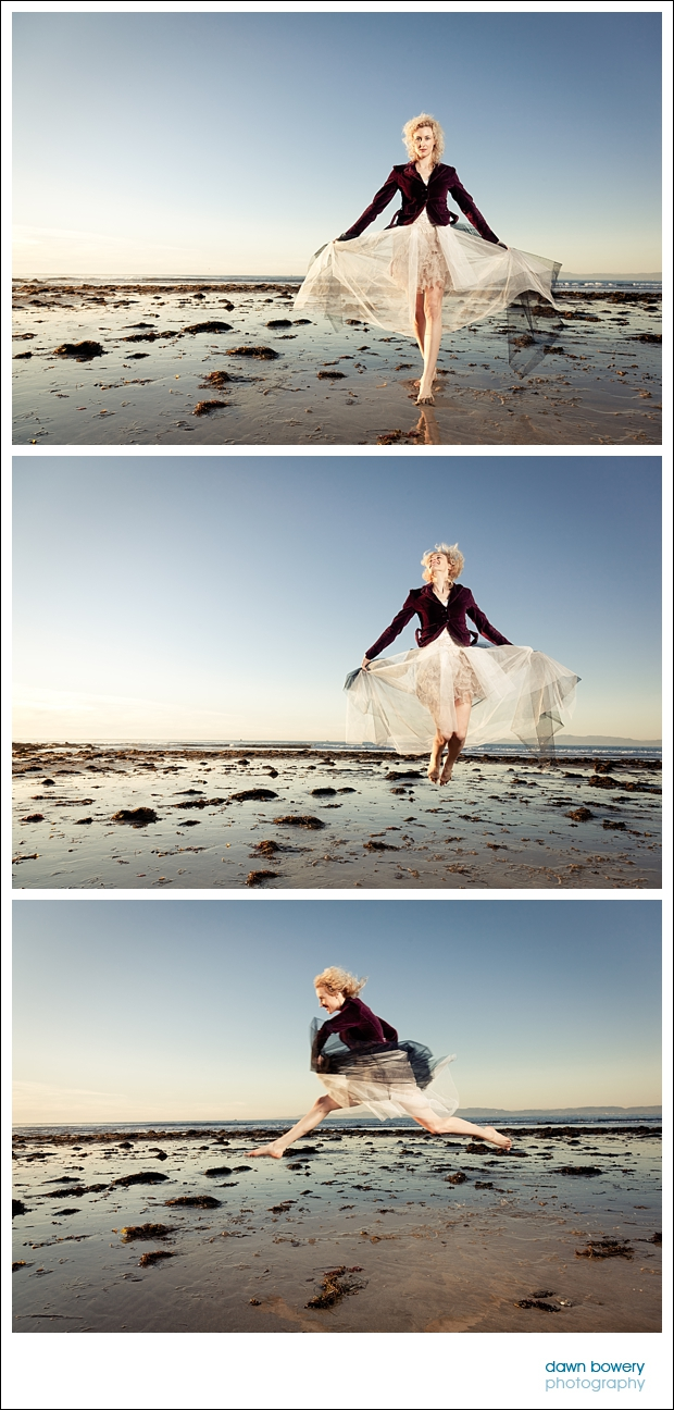 Los Angeles Creative Portrait Photographer jumps