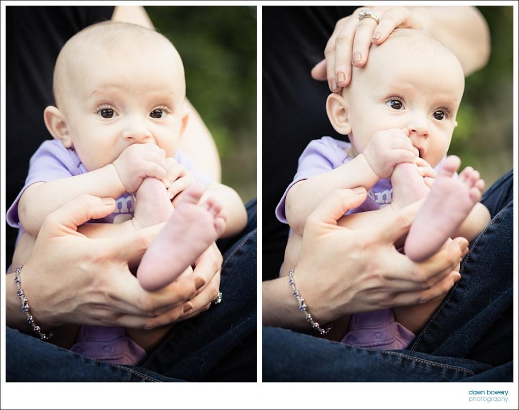 los angeles family portrait photographer baby