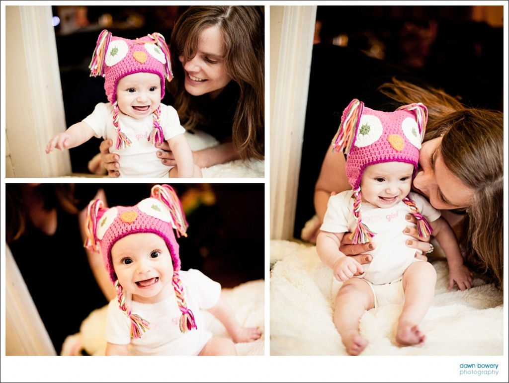 los angeles family portrait photographer baby hat