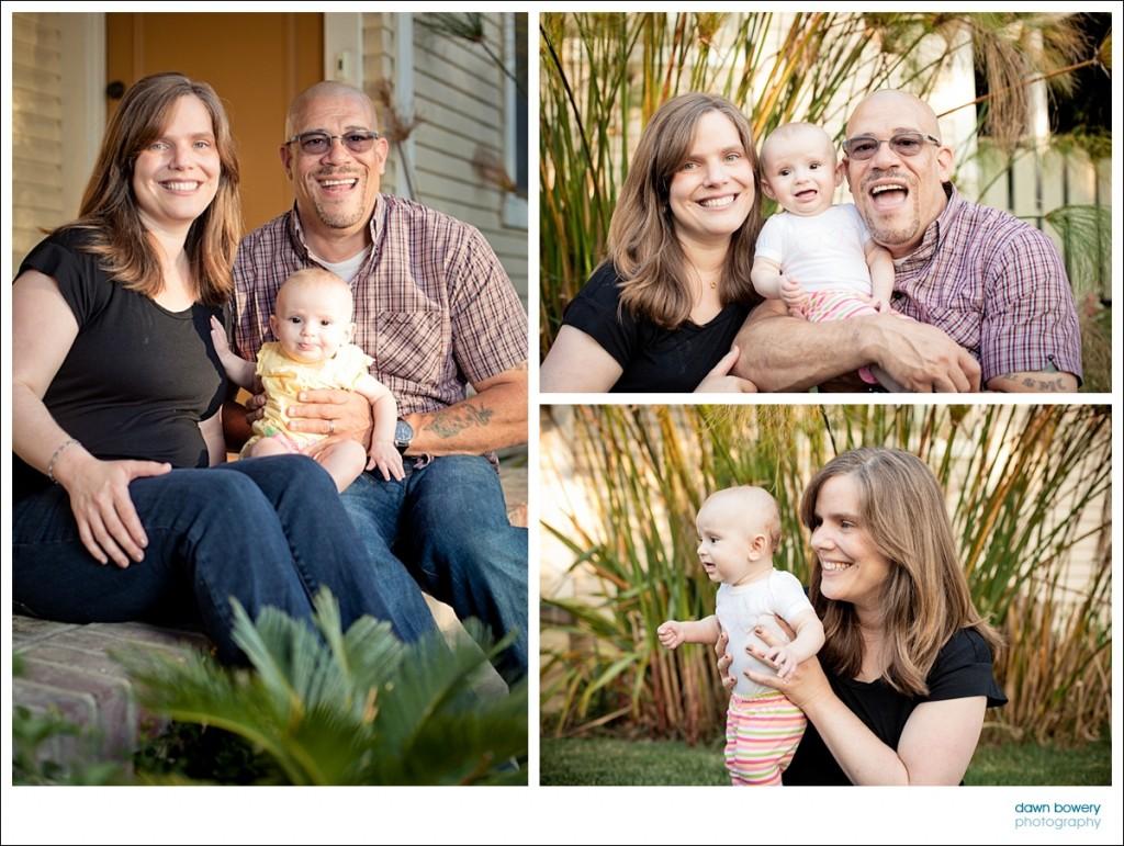 los angeles family portrait photographer front porch