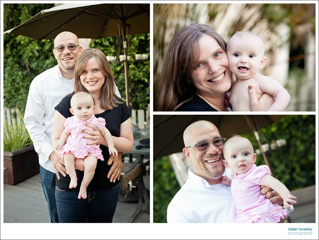 los angeles family portrait photography baby