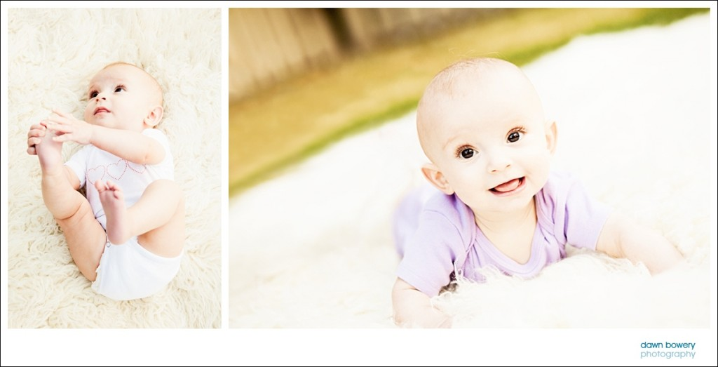 los angeles family portrait photographer crawling baby