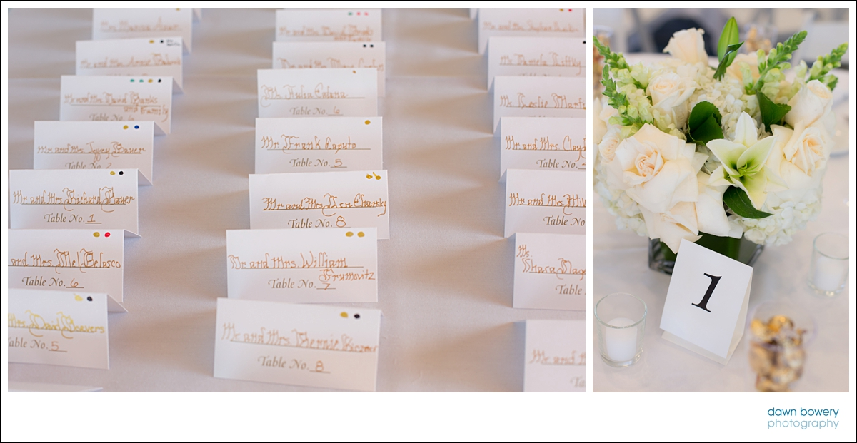 Hollywood Hills Event Photographer place cards
