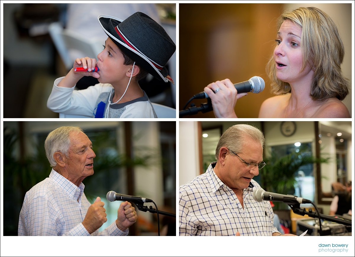 Los Angeles Family Event Photographer emotional speeches
