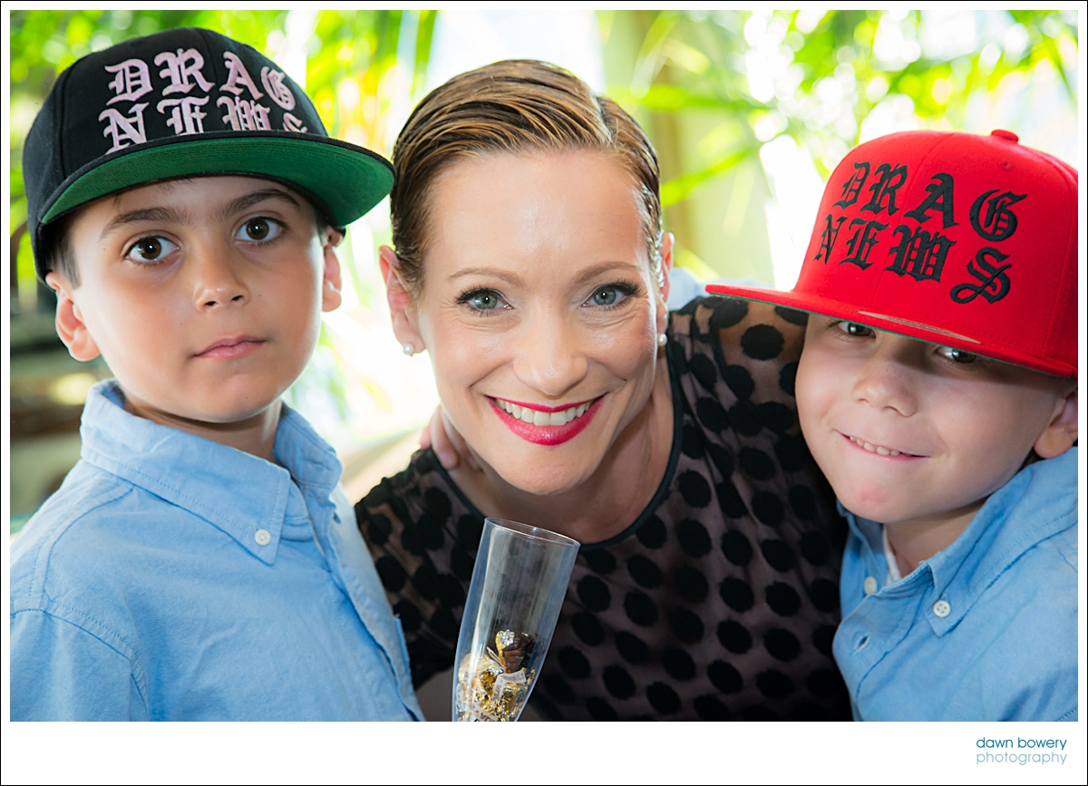 Los Angeles Family Event Photographer mum and sons