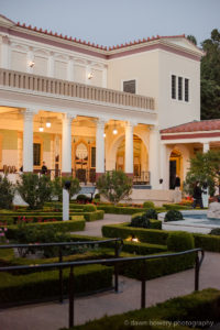 getty villa event photography